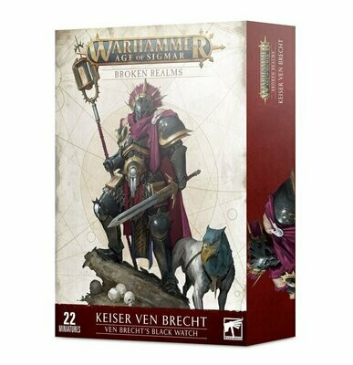 Broken Realms: Keiser Ven Brecht – Ven Brecht's Black Watch - Stormcast Eternals - Age of Sigmar - Games Workshop