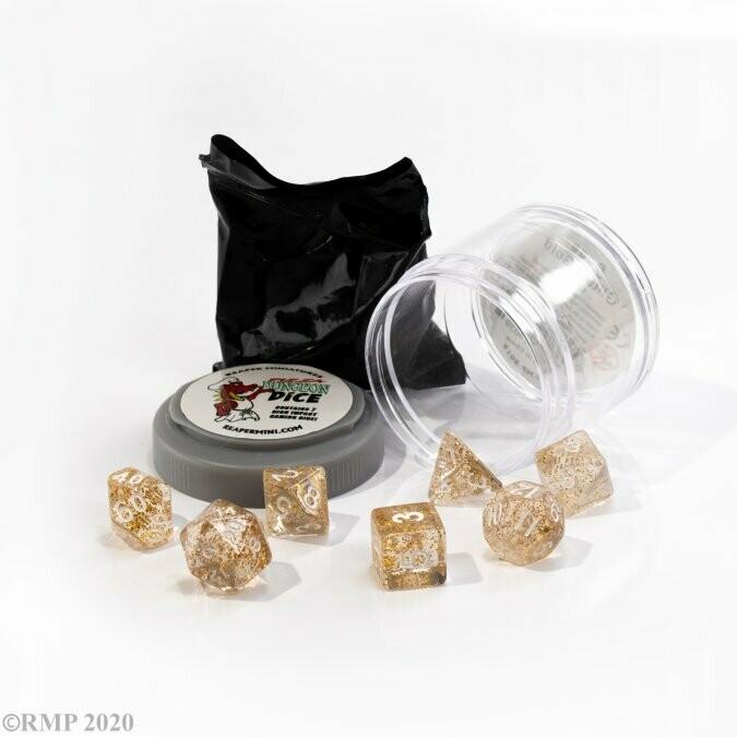 Lucky Dice Boss - Glitter Gold - Reaper Miniatures