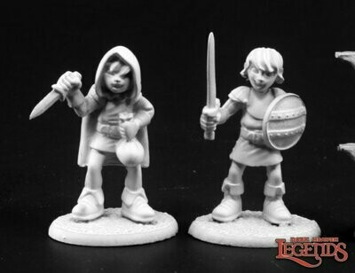 ADVENTURING KIDS #2 (2) - Reaper Miniatures