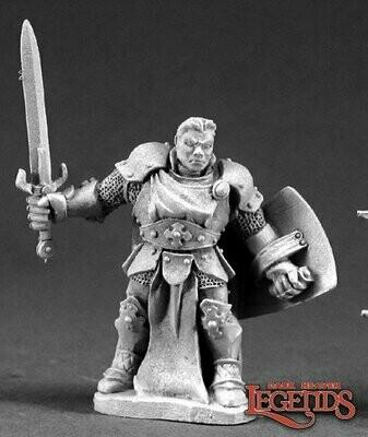STERN KESTRELMANN, PALADIN HERO - Reaper Miniatures