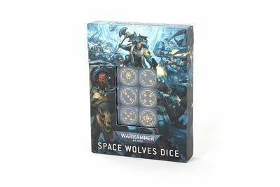 Würfelset der Space Wolves - Space Wolves - Warhammer 40.000 - Games Workshop