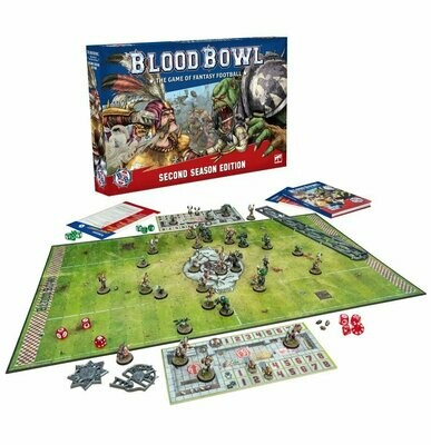 Blood Bowl Second Season Edition (Englisch)  - Games Workshop