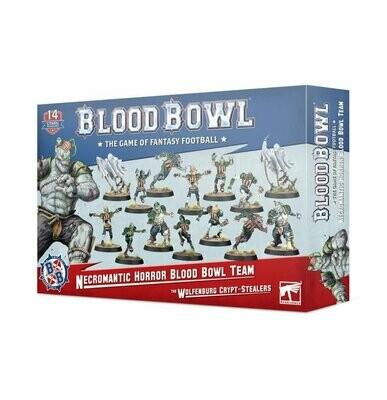 Necromantic Horror Team: Die Wolfenburg Crypt-Stealers - Blood Bowl - Games Workshop