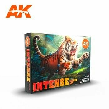 Intense-Colors-Set-(6x17mL)-(3rd-Generation) - AK Interactive