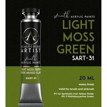 Scalecolor Artist - Light-Moss-Green - Scale 75
