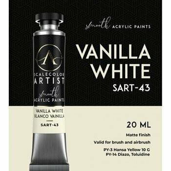 Scalecolor Artist - Vanilla-White - Scale 75