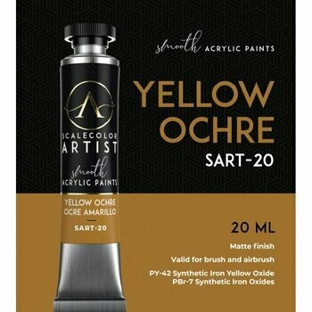 Scalecolor Artist - Yellow-Ocre - Scale 75