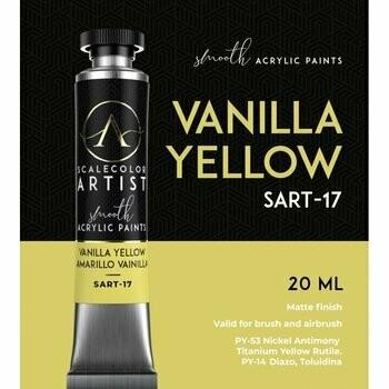 Scalecolor Artist - Vanilla-Yellow - Scale 75