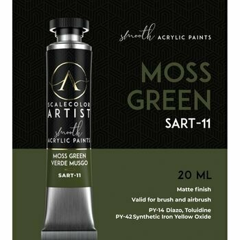 Scalecolor Artist - Moss-Green - Scale 75