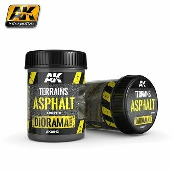 Terrains-Asphalt- Terrains-Asphalt - AK Interactive