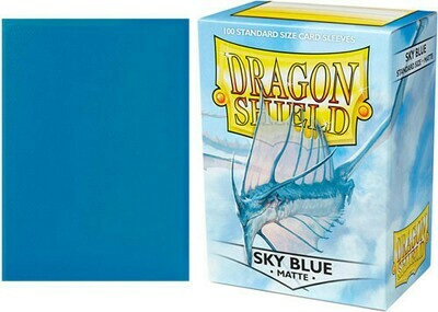 Sky Blue Matte Standard Size - Dragon Shield