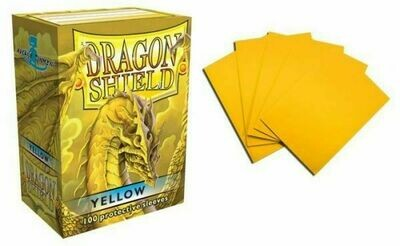 Yellow Classic Standard Size - Dragon Shield