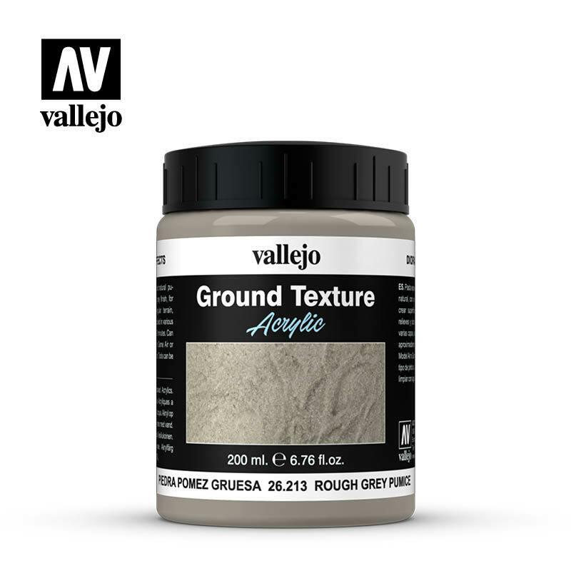 Rough Grey Pumice - Ground Texture Acrylic - Vallejo