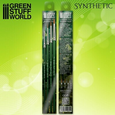 GREEN SERIES Synthetisches Pinselset Synthetic 4x - Greenstuff World