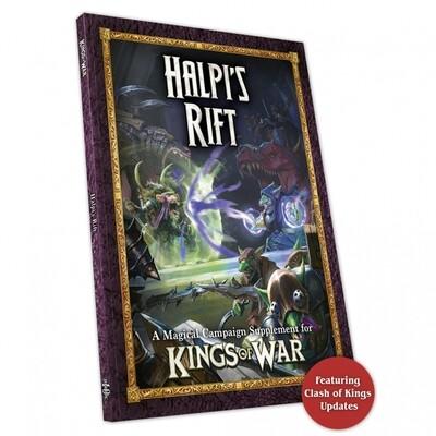 Kings of War Halpi's Rift - English