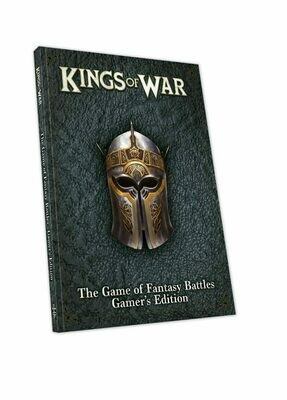 Kings of War Third Edition Rulebook Softback Gamer's Edition - English