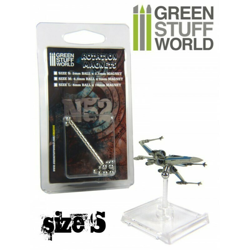 Rotierender Magnet Rotation Magnets - Größe S - GreenstuffWorld