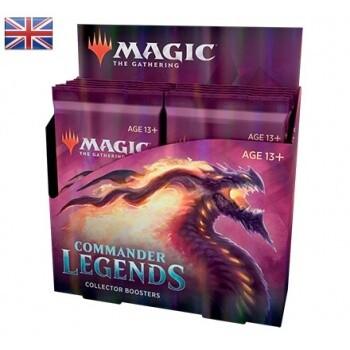 MTG - Commander Legends Collector Booster Display (12 Packs) - EN