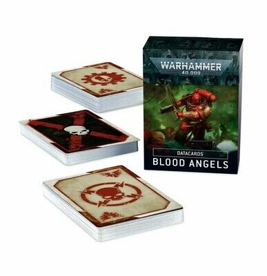 Datacards: Blood Angels (Englisch) - Warhammer 40.000 - Games Workshop