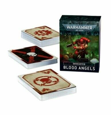 Datakarten: Blood Angels Deutsch - Warhammer 40.000 - Games Workshop
