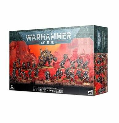 Battleforce der Chaos Space Marines – Dezimierungskriegerschar - Warhammer 40.000 - Games Workshop