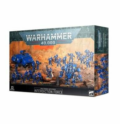 Battleforce der Space Marines – Abriegelungsstreitmacht Interdiction Force - Warhammer 40.000 - Games Workshop