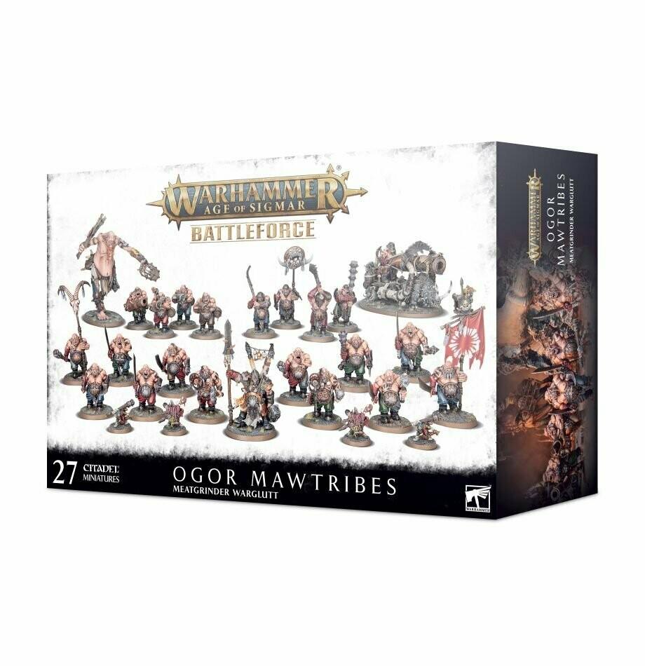Battleforce der Ogor Mawtribes – Fleischwolf-Fresshorde- Warhammer 40.000 - Games Workshop