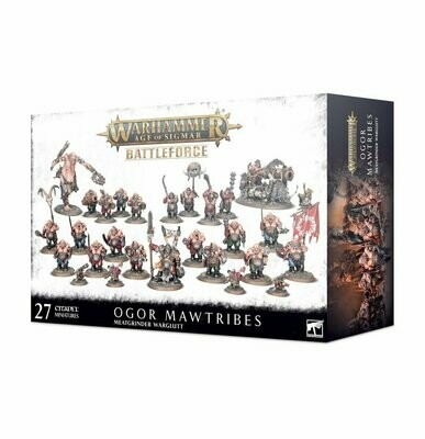 Battleforce der Ogor Mawtribes – Fleischwolf-Fresshorde- Warhammer 40.000 - Games Workshop