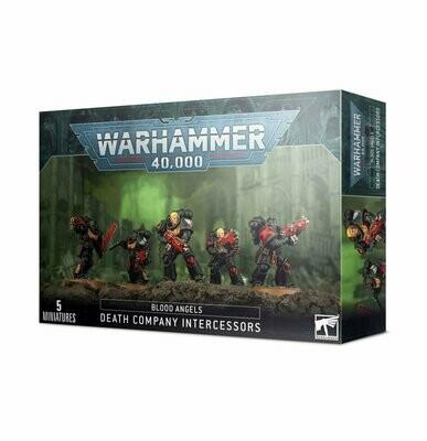 Todeskompanie-Intercessoren der Blood Angels Death Company Intercessors - Warhammer 40.000 - Games Workshop