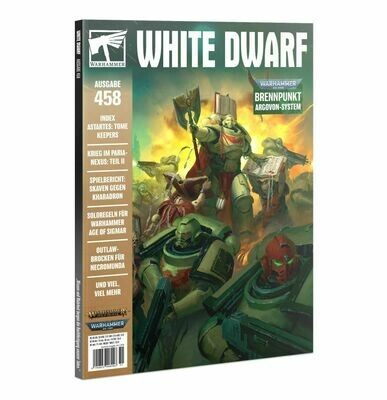 White Dwarf 458 November 2020 (Deutsch) - Games Workshop