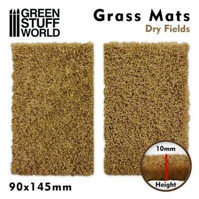 Grasmattenausschnitte - Trockene Felder - Dry Fields - Greenstuff World