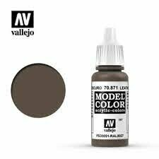 Model Color 147 Leather Brown (70871) - Vallejo - Farben