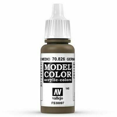 German Cam. Med Brown Model Color - Vallejo - Farben