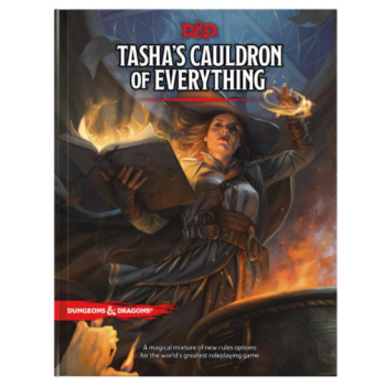 Dungeons & Dragons D&D Tasha's Cauldron of Everything - EN