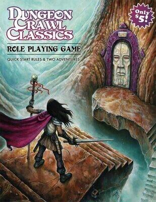 Dungeon Crawl Classics RPG Quick Start Rules - EN