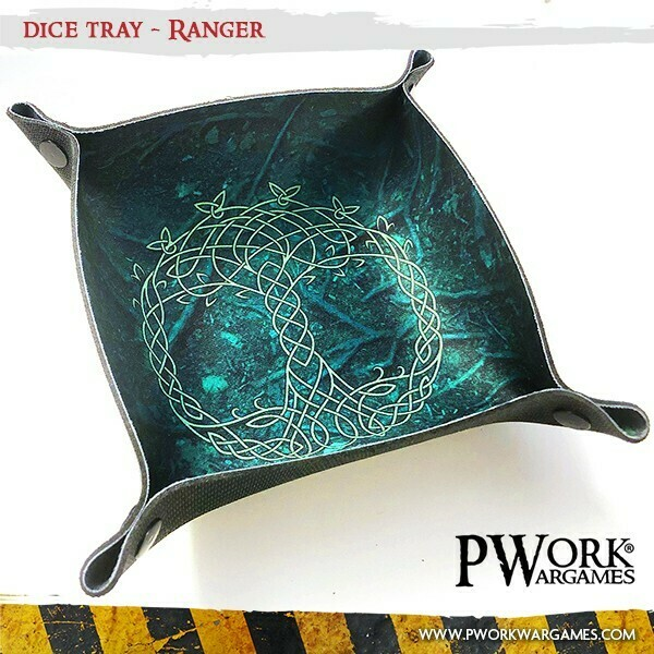 Dice Tray - Ranger - PWork Wargames