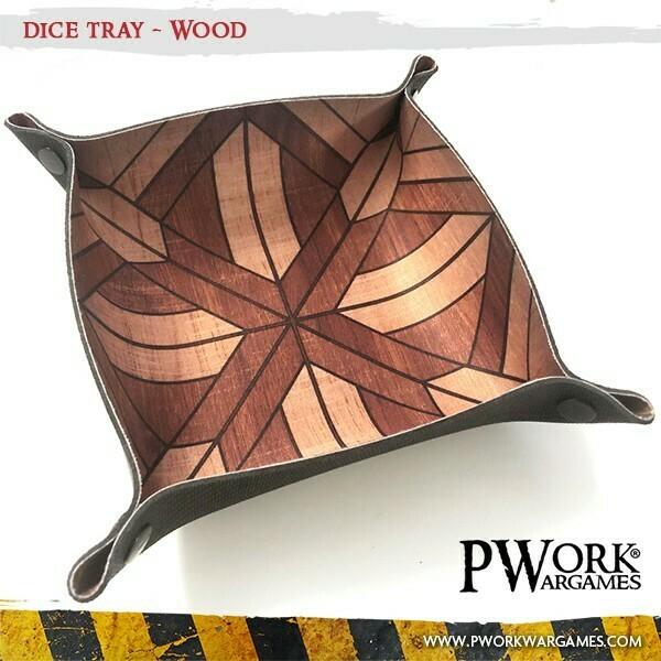 Dice Tray - Wood - PWork Wargames