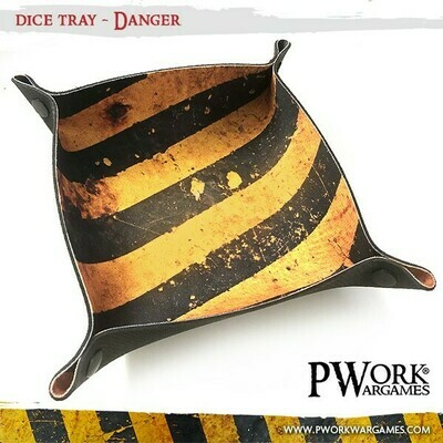 Dice Tray - Danger - PWork Wargames