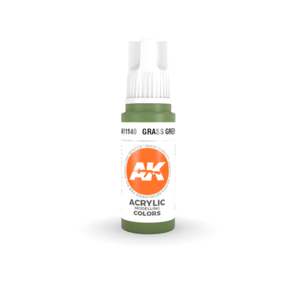 Grass Green– STANDARD(3rd-Generation)-(17mL) - AK Interactive