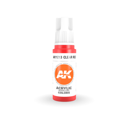 CLEAR RED – STANDARD-(3rd-Generation)-(17mL) - AK Interactive