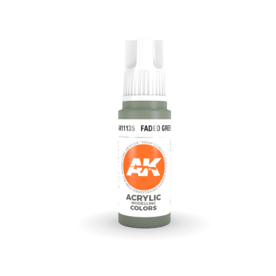 Faded Green-(3rd-Generation)-(17mL) - AK Interactive