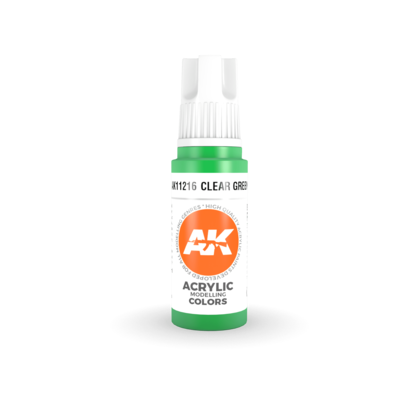 CLEAR GREEN – STANDARD-(3rd-Generation)-(17mL) - AK Interactive