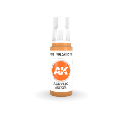 VOLCANIC YELLOW – STANDARD(3rd-Generation)-(17mL) - AK Interactive