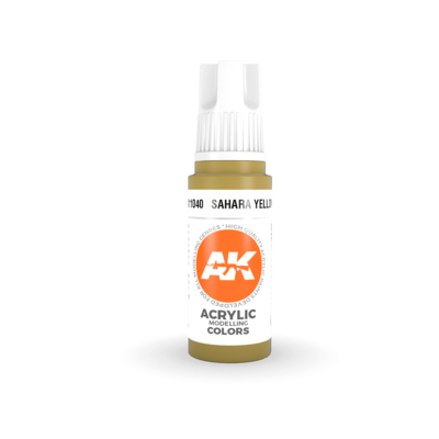 Sahara Yellow-(3rd-Generation)-(17mL) - AK Interactive