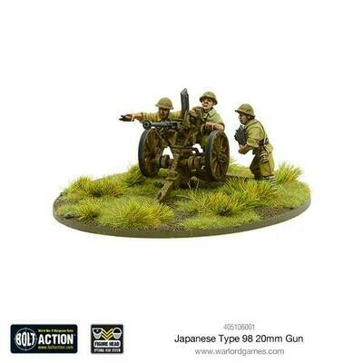 Japanese Type 98 20mm Gun  - Bolt Action - Warlord Games