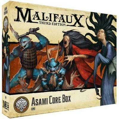 Malifaux 3rd Edition - Asami Core Box - EN - Wyrd