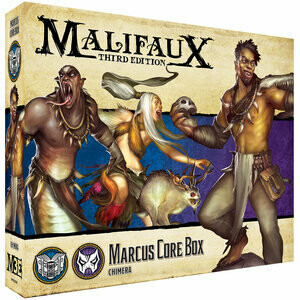 Malifaux 3rd Edition - Marcus Core Box - EN - Wyrd