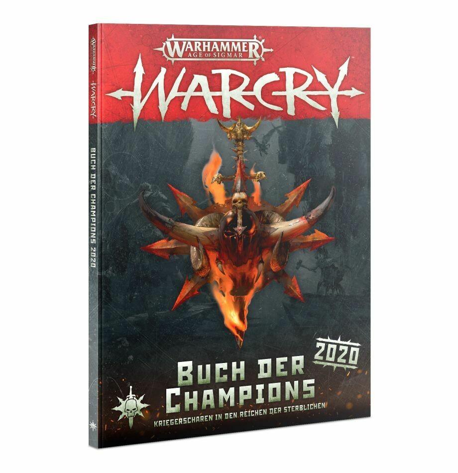 Warcry: Buch der Champions 2020 (Deutsch) Erweiterung - Warhammer - Games Workshop