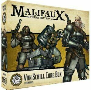 Malifaux 3rd Edition - Von Schill Core Box - EN - Wyrd