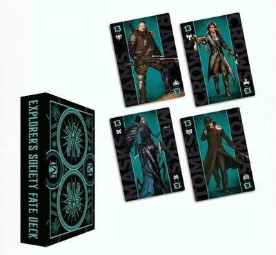 Malifaux 3rd Edition - Explorer's Society Faction Fate Deck - EN - Wyrd